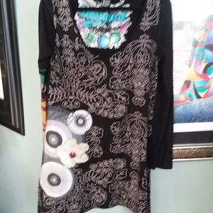 Desiguel embroidered  dress xl
